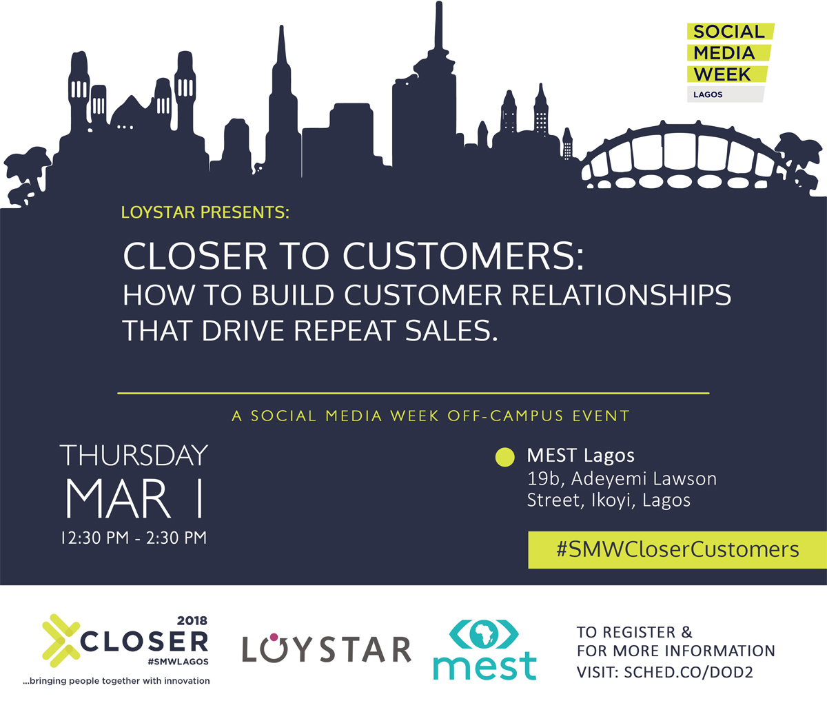 Loystar Event - Closer to CustomersL How to build customer relationships that drive repeat sales.