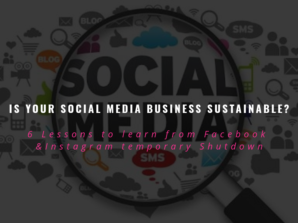 IS YOUR SOCIAL MEDIA BUSINESS SUSTAINABLE?